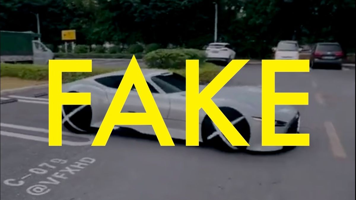 """إن مقطع الفيديو هذا لسيارة """"أبل كار"""" ذاتية التحكم بالكامل مزيف"""