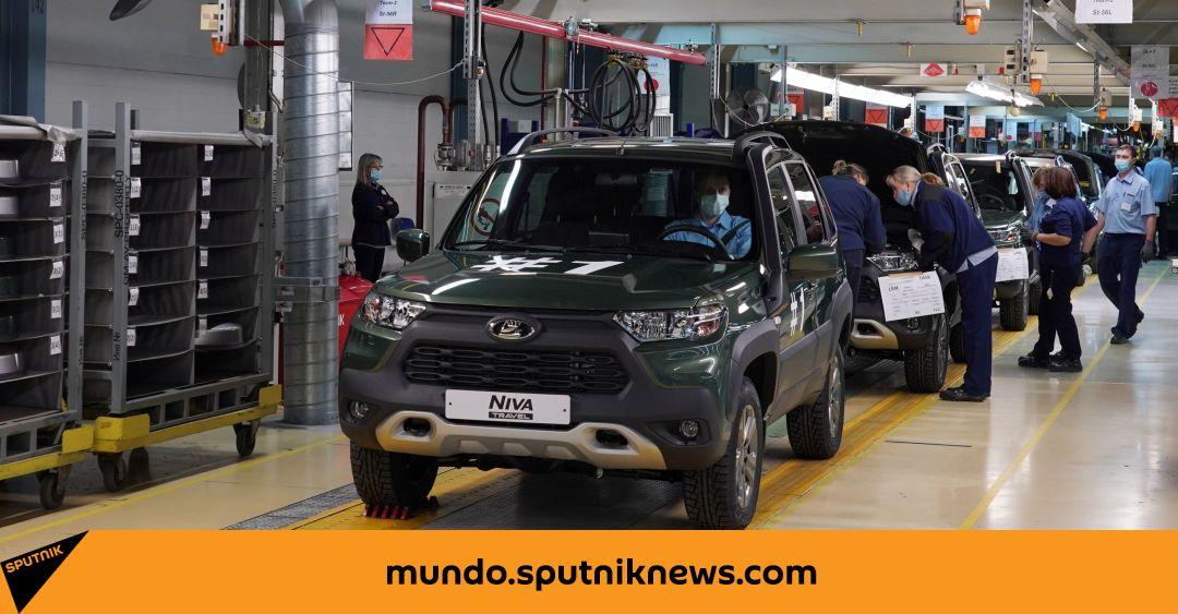 قاموا بنشر أول فيديو لسيارة Lada Niva Travel الجديدة