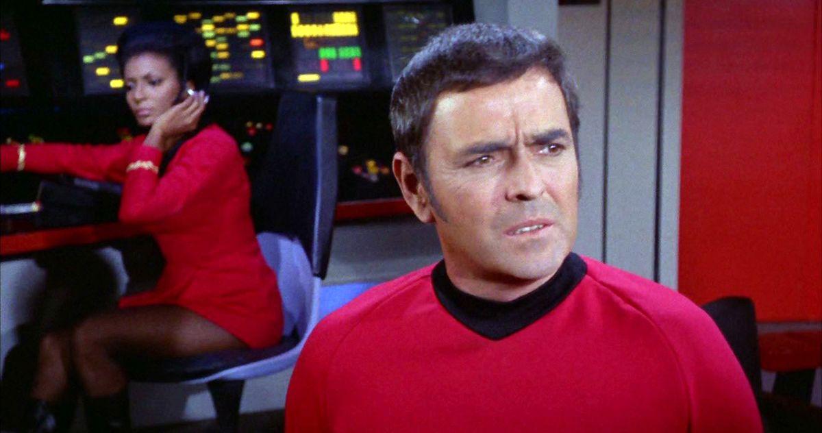 Cenizas de Scotty de Star Trek contrabandeadas a bordo de la estación espacial