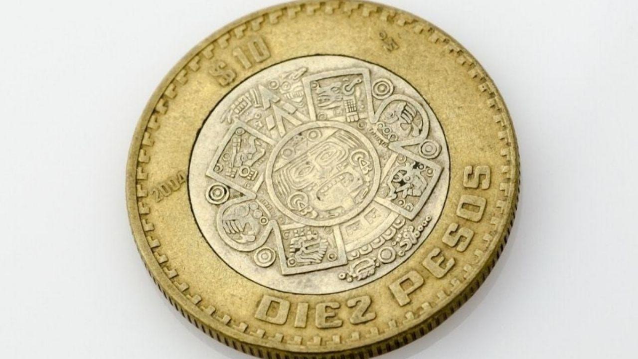 عناية عظيمة!  هذه القطع النقدية 1 و 10 PESOS لا تساوي أكثر ولا هي مقتنيات