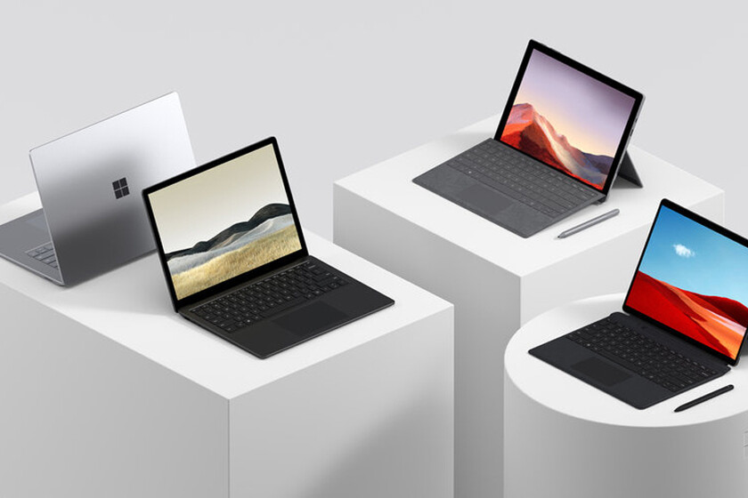 خصومات على أجهزة Surface لأجهزة الكمبيوتر المحمولة والأجهزة اللوحية ولوحات المفاتيح والملحقات