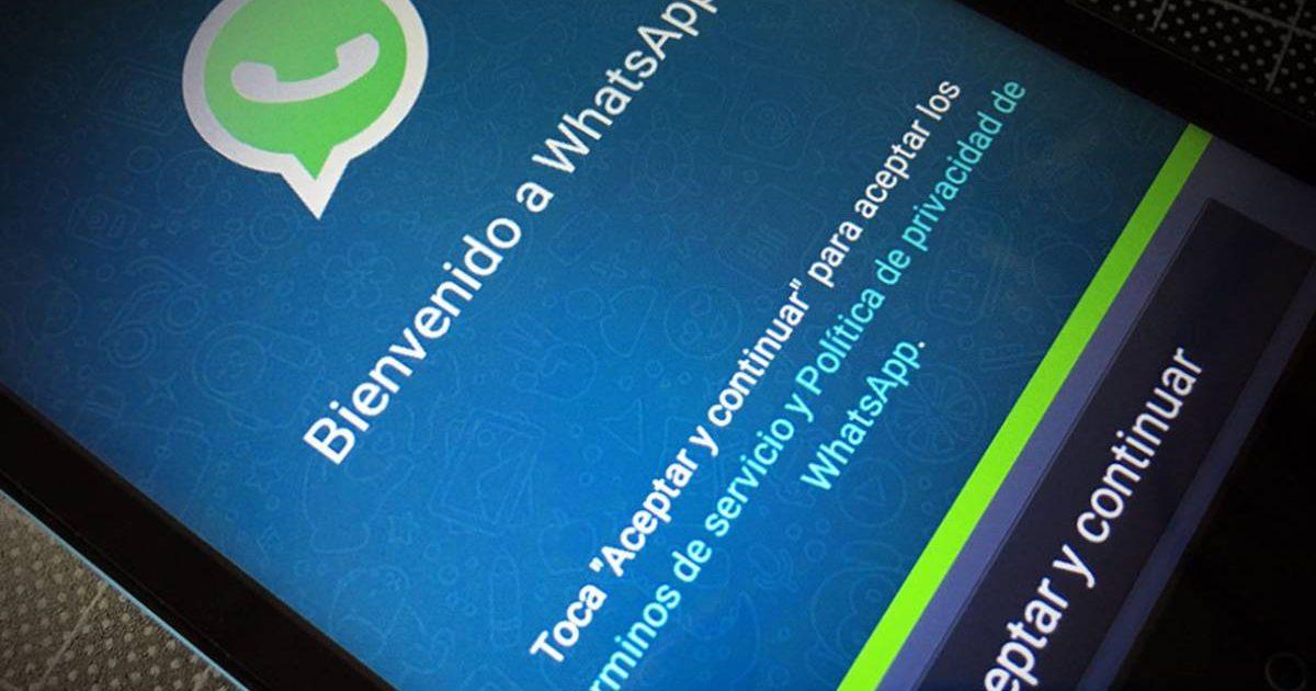 هل قبلت بالفعل؟  هذه هي شروط وأحكام WhatsApp الجديدة ؛  التشيكية من متى