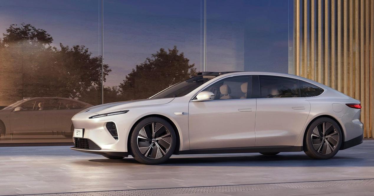 Nio ET7 ، البديل الصيني لطراز Tesla Model S مع 1000 كيلومتر من الحكم الذاتي