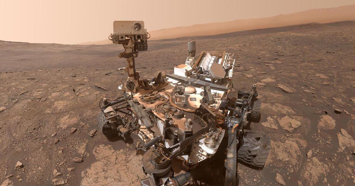 El rover Curiosity de la NASA celebra 3.000 días en Marte con un panorama extremo