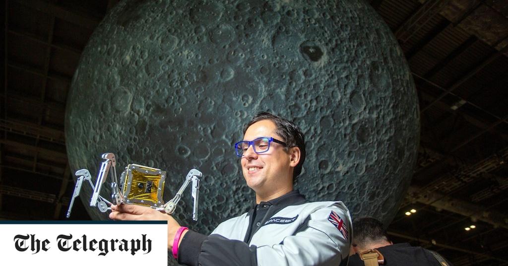 Gran Bretaña enviará una araña espacial a la Luna