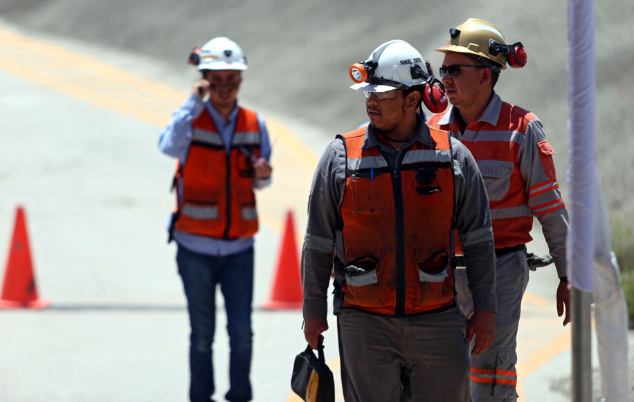 Industrias Peñoles: قامت بإنشاء Baluarte Minero ؛  يقود فرناندو ألانيس